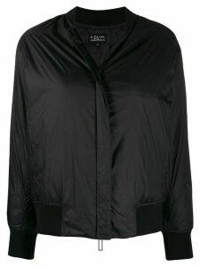 Emporio Armani rear logo jacket - Black