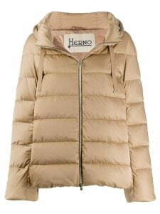 Herno padded hooded jacket - NEUTRALS