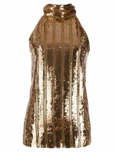 Galvan Stardust sequin top - GOLD