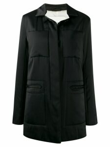 Jil Sander pockets shirt jacket - Black