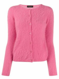 Roberto Collina slim-fit cardigan - PINK