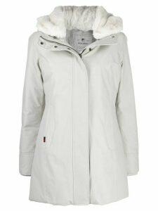 Woolrich Boulder parka coat - White
