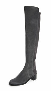 Stuart Weitzman Reserve Stretch Suede Boots