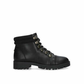 Carvela Samble - Black Hiker Style Ankle Boots