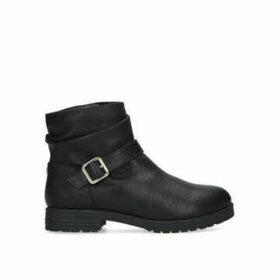 Carvela Comfort Teresa - Black Buckle Detail Ankle Boots