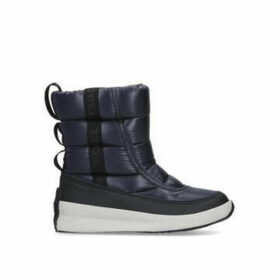 Sorel Out N About Puffy Mid - Navy Snow Boots