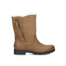 Sorel Emilie Foldover - Brown Calf Boots