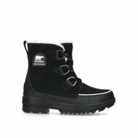Sorel Torino - Black Chunky Hiker Boots