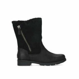 Sorel Emilie Foldover - Black Calf Boots