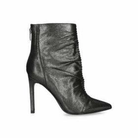 Nine West Tiaa - Metallic Stiletto Heel Ankle Boots