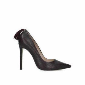 Carvela Action - Wine Tassel Stiletto Heel Courts