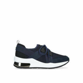 Carvela Jetson - Navy Lace Up Trainers