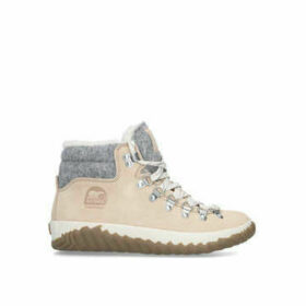 Sorel Out N About Plus Conqst - Tan Chunky Trainers