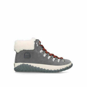 Sorel Out N About Plus Conqst - Grey Chunky Trainers