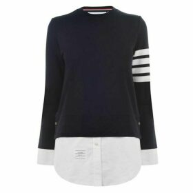 Thom Browne 4 Bar Shirt Sweater
