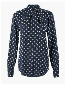 M&S Collection Star Print Blouse