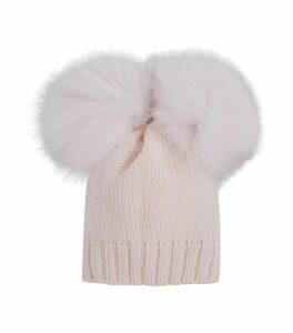 Double Pom Pom Hat