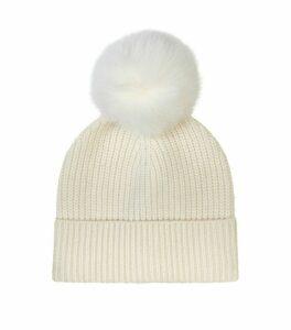 Cashmere Pom-Pom Hat
