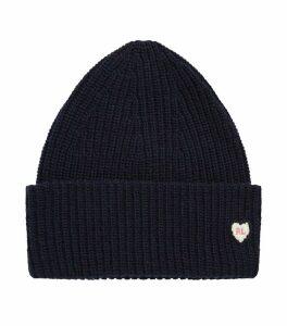Heart Motif Beanie Hat