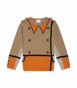 Trompe L'Oeil Intarsia Sweater