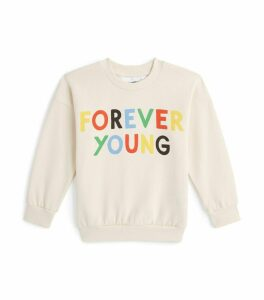 Forever Young Print Sweatshirt
