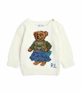 Polo Bear Knit Sweater