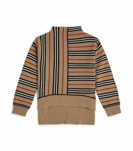 Icon Stripe Ribbed Sweater