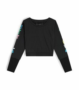 Long-Sleeved Wiggle Logo Sports Top
