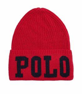 Knitted Polo Beanie