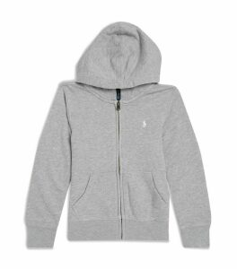 Polo Pony Zip-Up Hoodie