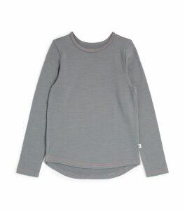 Merino Wool Long-Sleeved T-Shirt