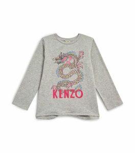 Gaia Dragon Long-Sleeved T-Shirt