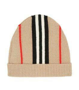 Icon Stripe Beanie Hat