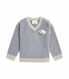 Thomas Bear V-Neck Sweater