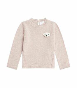 Thomas Bear Wool-Cashmere Sweater