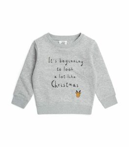 Christmas Slogan Sweatshirt