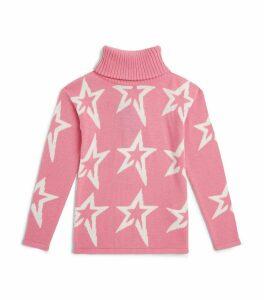 Wool Star Rollneck Sweater