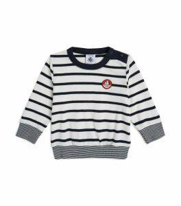 Stripe Long-Sleeved T-Shirt