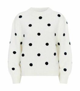 Ariana Polka-Dot Sweater