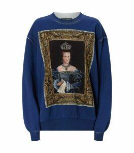 Queen Print Sweatshirt