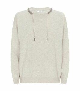 Embellished Drawstring Sweater