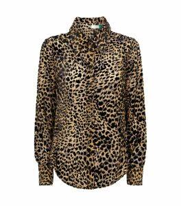 Andrea Leopard Print Shirt
