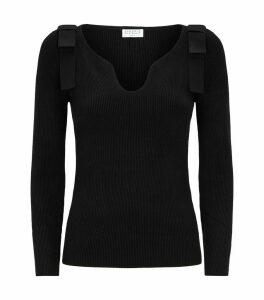 Heart-Neck Sweater