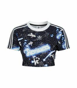 x Fiorucci Graphic Crop T-Shirt