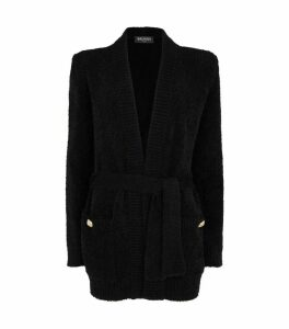 Mohair Belted Cardigan