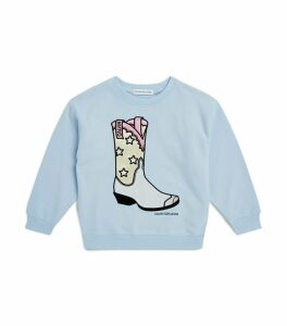 Cowboy Boot Sweatshirt