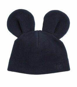 Fleece Beanie With Ears
