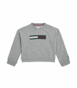 Flag Front Sweatshirt