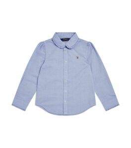 Frill Collar Oxford Shirt