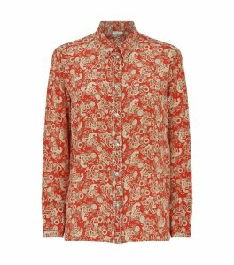 Paisley Silk Shirt
